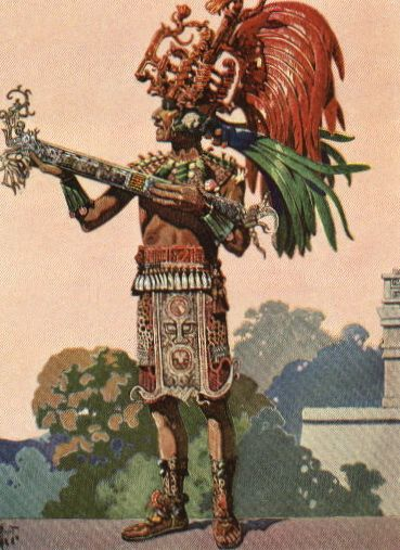 A Mayan priest. | Aztecs in 2019 | Aztec art, Mexican art ...