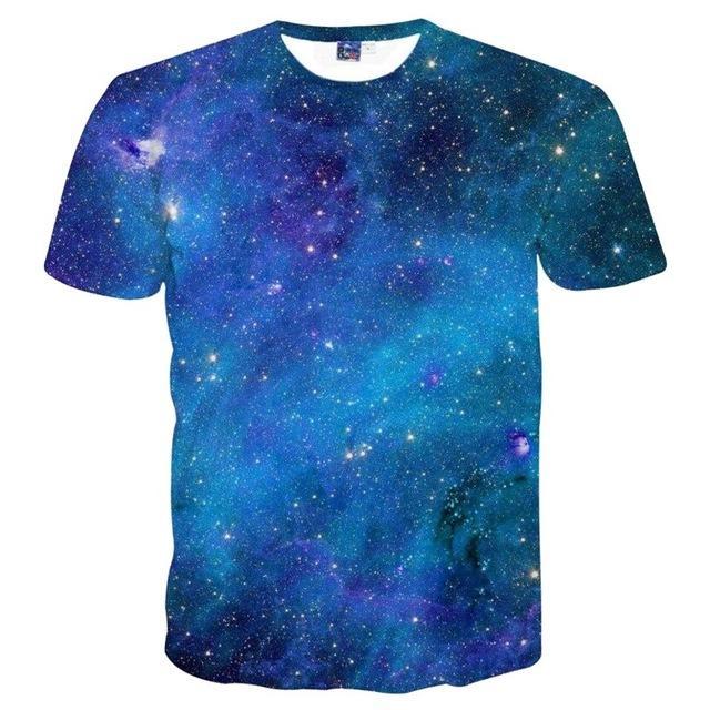 Blue Galaxy T-Shirt