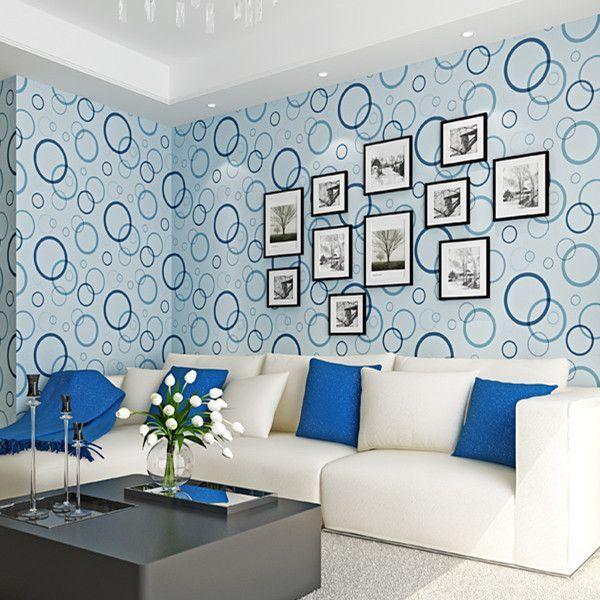 Circle Wallpaper Wp44 Asian Paints Wall Designs Wall Designs For Hall Asian Paint Design