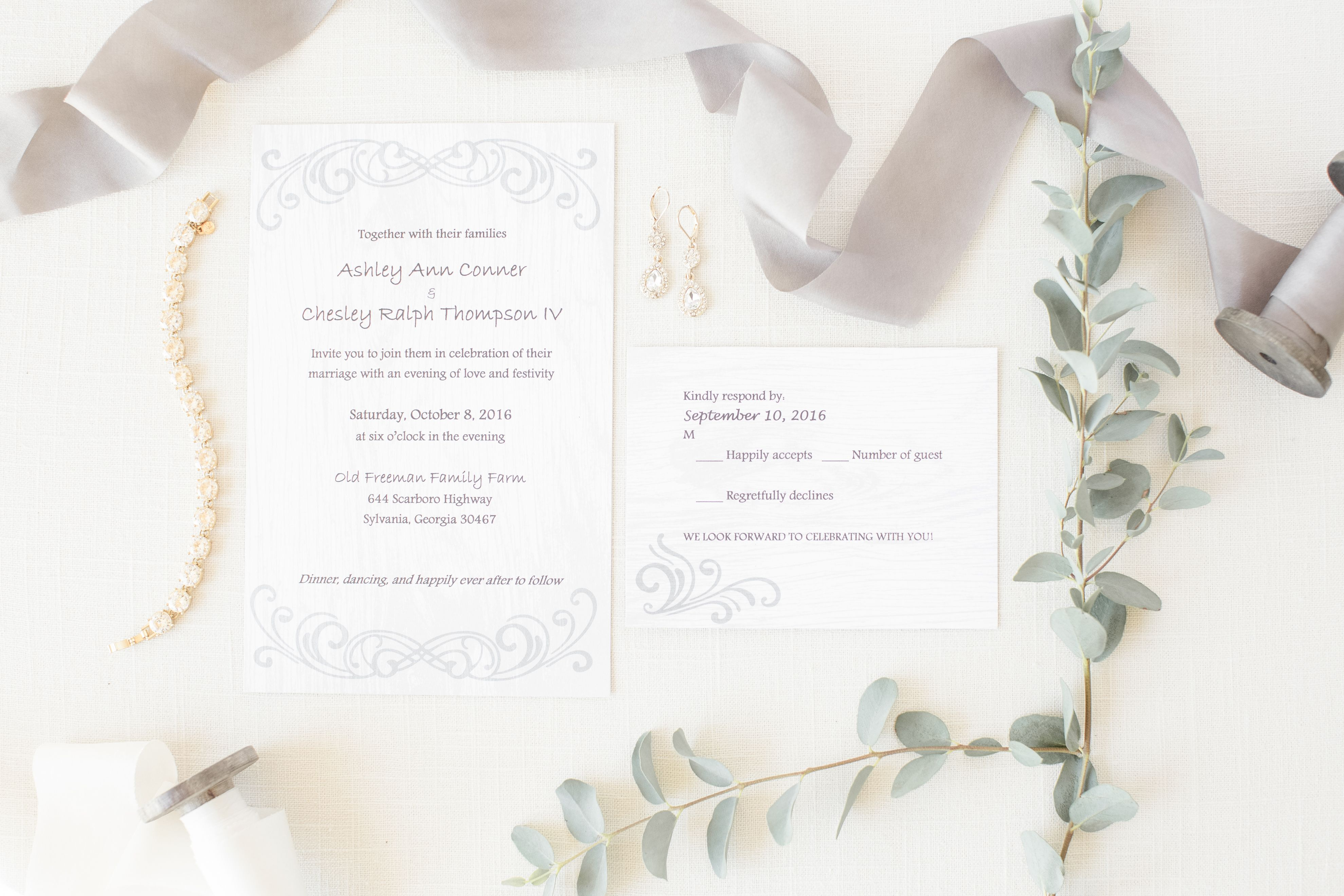 Wedding Invitations | Savannah, GA | Fine Art Wedding Photographer ...