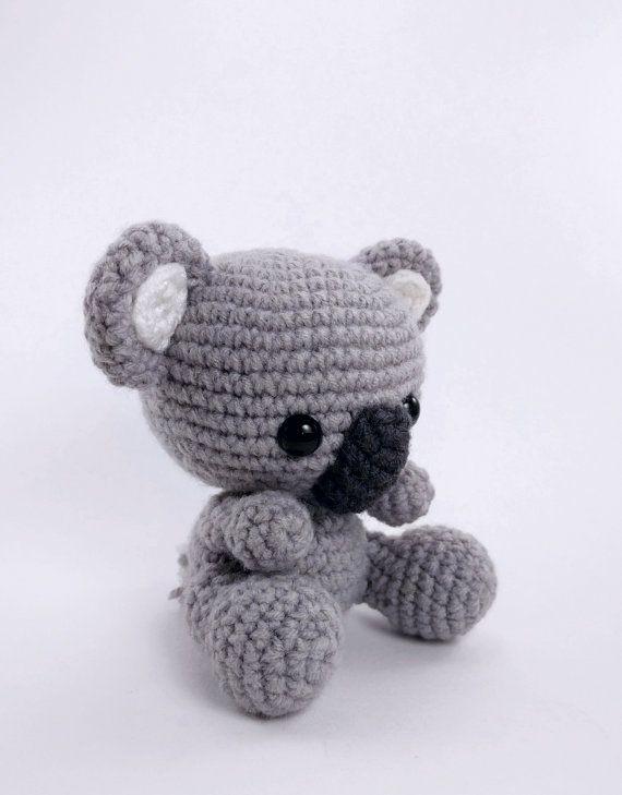 PATTERN: Crochet koala pattern - amigurumi koala pattern - koala ...