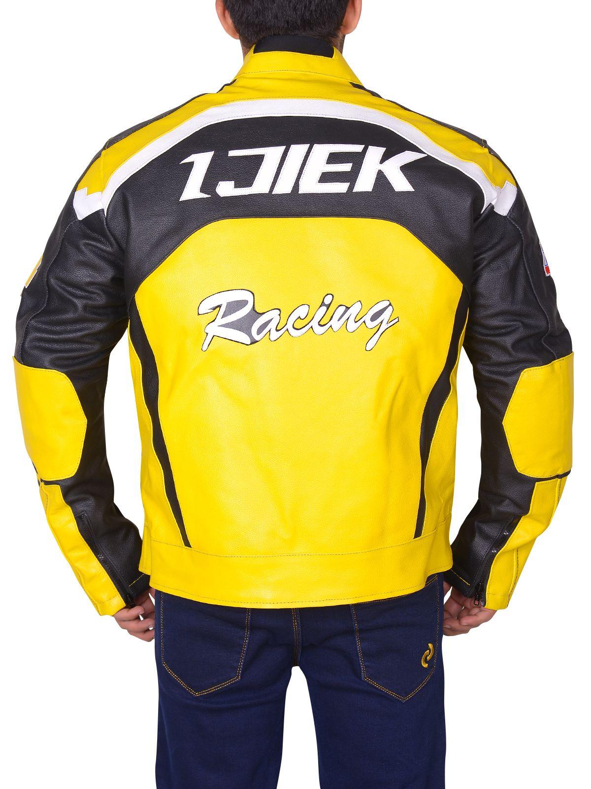 Black Yellow Padded Biker Leather Jacket Men Jacket Mauvetree Leather Jacket Men Black Biker Jacket Jackets [ 1600 x 1200 Pixel ]