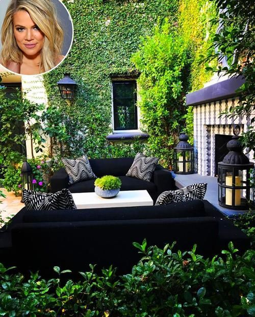 Khloe Kardashian House #khloekardashianhouse Home decor Khloé Kardashian Shows Off Her Backyard 'Sanctuary' — and Shares How to Get Her Look for Yourself #khloekardashian
