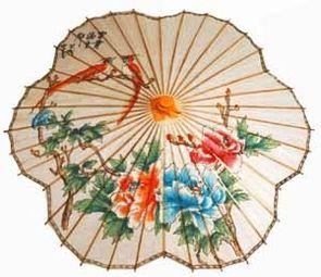 Decently-sized flower parasol