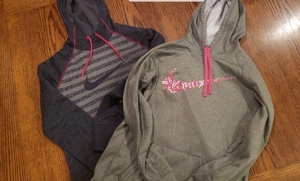 Nike dri fit womens medium hoodie athletic hoodie lot