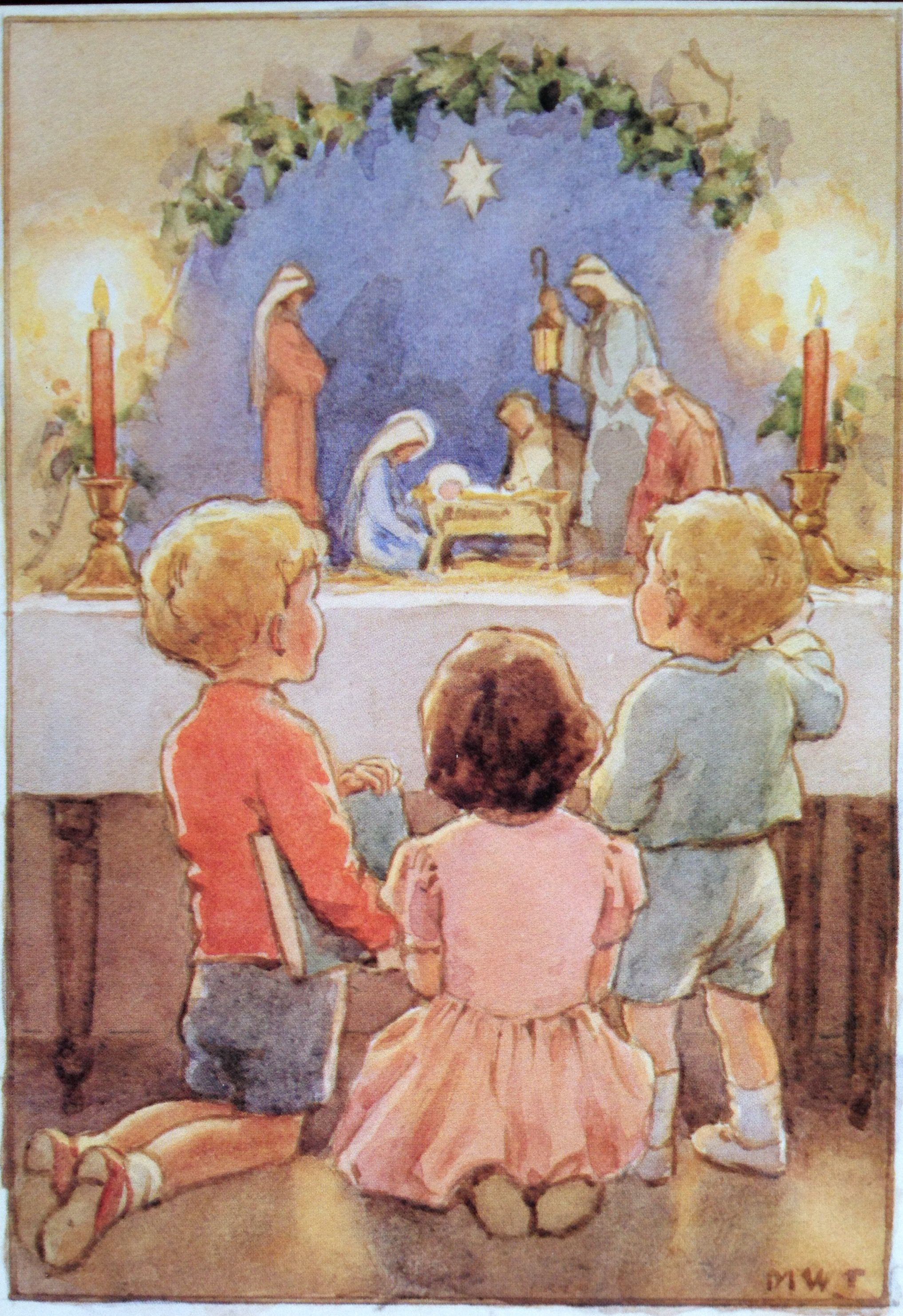 Vintage Christmas Cards 4