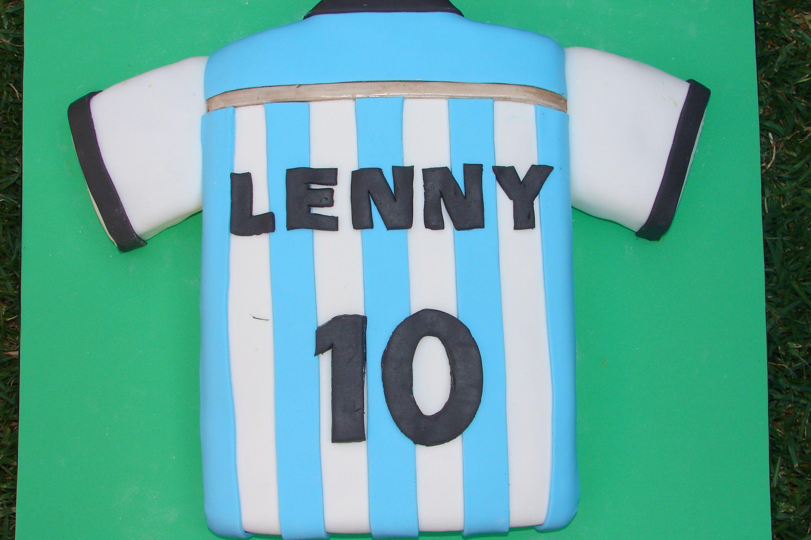 959c4c4f55f Torta Camiseta de la seleccion Argentina de futbol.