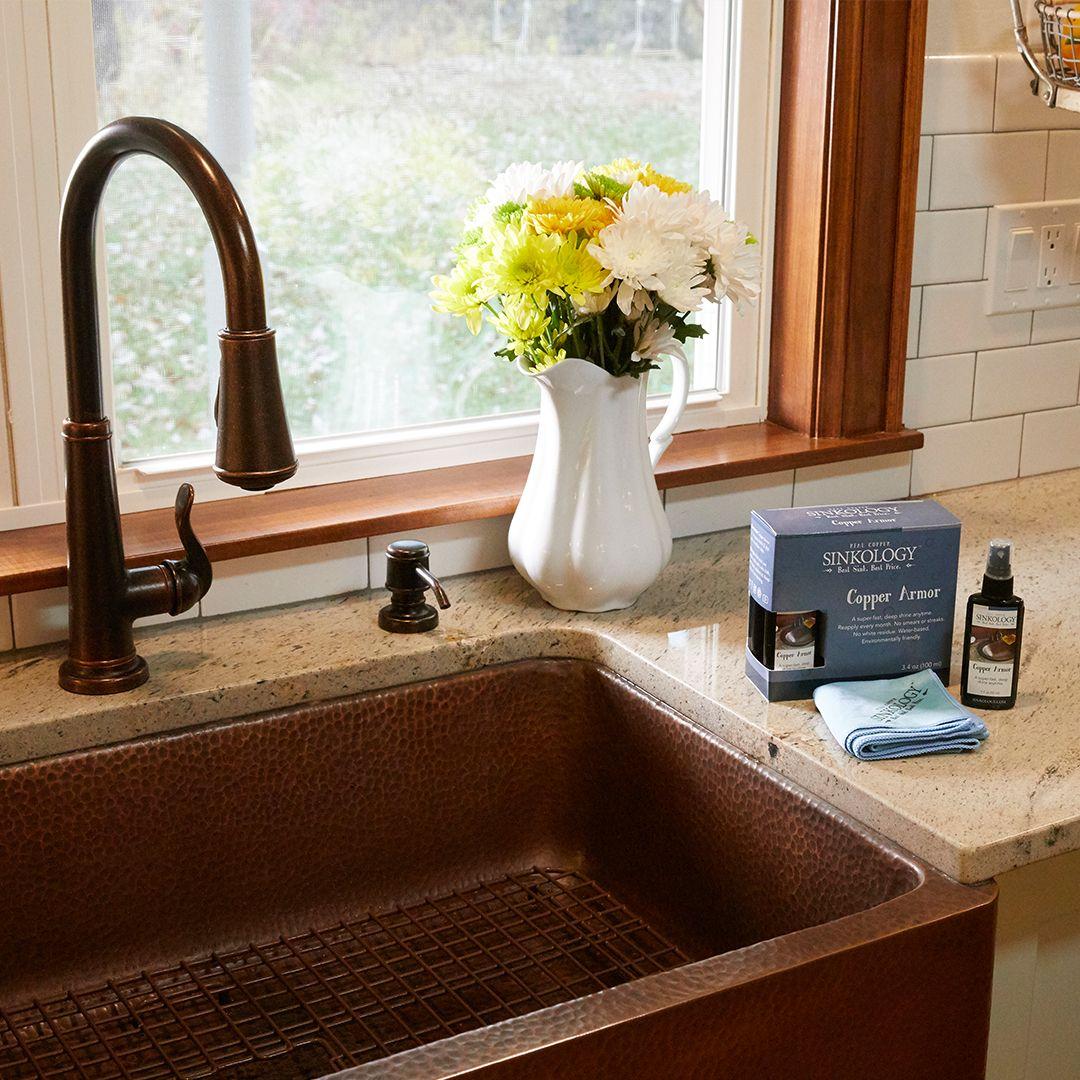Your Guide to Copper Sink Cleaning and Care (With images