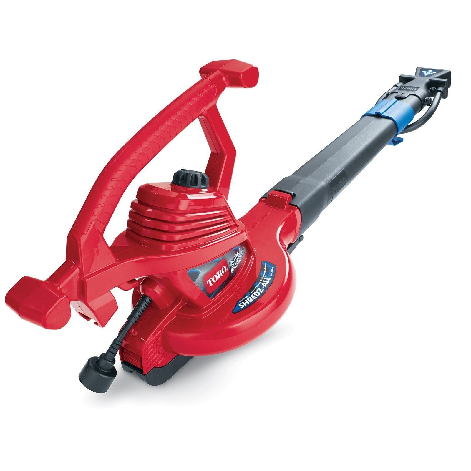 Toro 51621 Ultraplus Leaf Blower Vacuum Variable Speed Up To 250 Mph With Metal Impeller 12 Amp Products Leaf Blower Garden Tool Storage Yard Tools