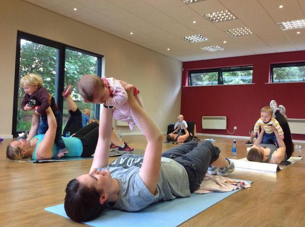 Post Natal Baby workout 1