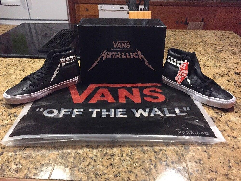 vans Off The Wall metallico