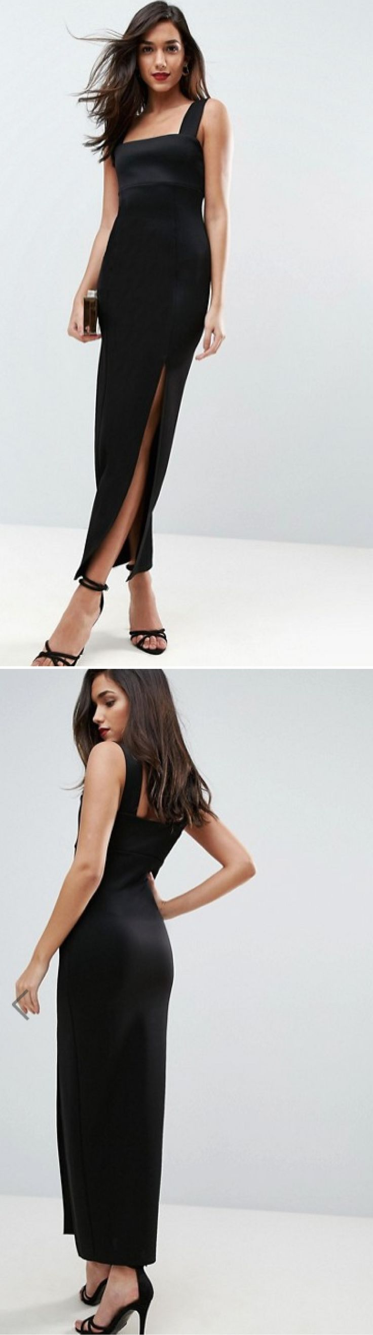 Simple little black dress blackdress dress longdress
