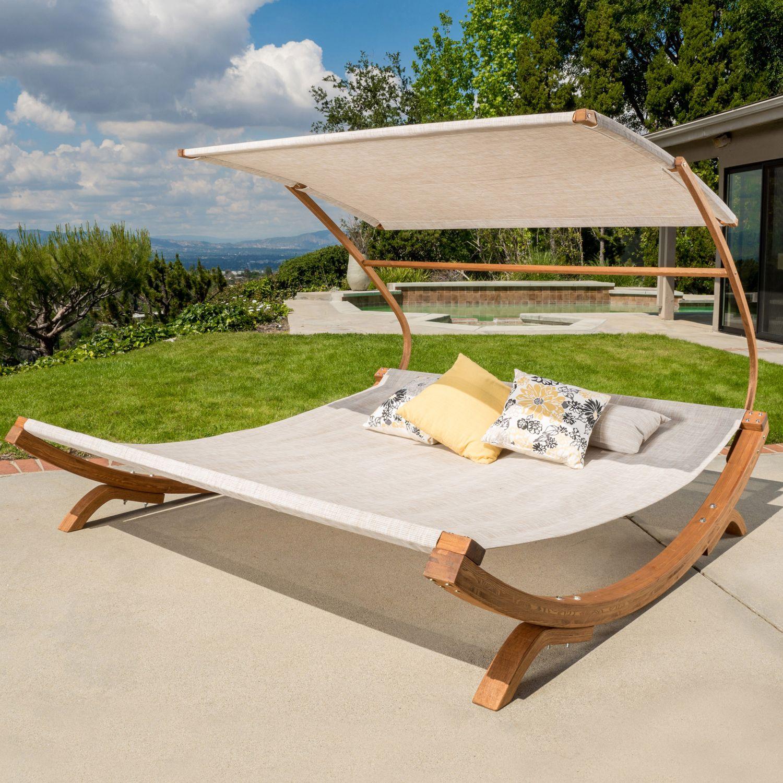 San Juan Sunbed With Adjustable Canopy