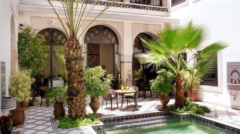 Resultado de imagen para patios interiores estilo marroqui   patios ...