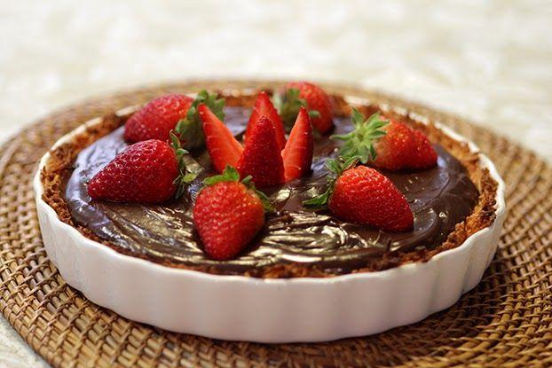 Resultado de imagem para torta de côco e brigadeiro