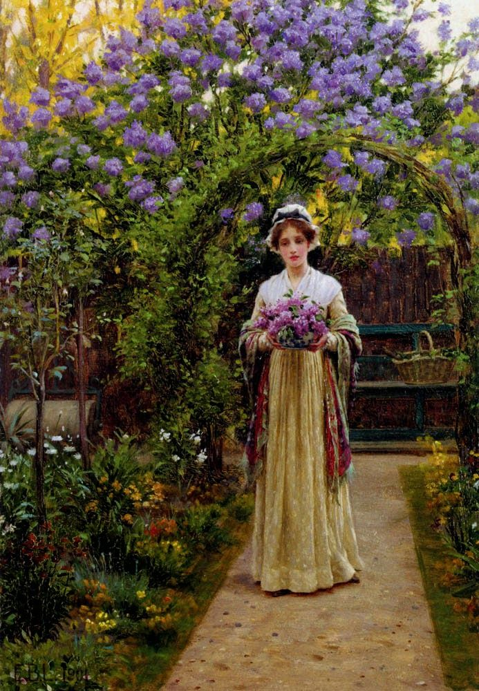 Edmund Blair Leighton | As Cores Da Arte: Edmund Blair Leighton