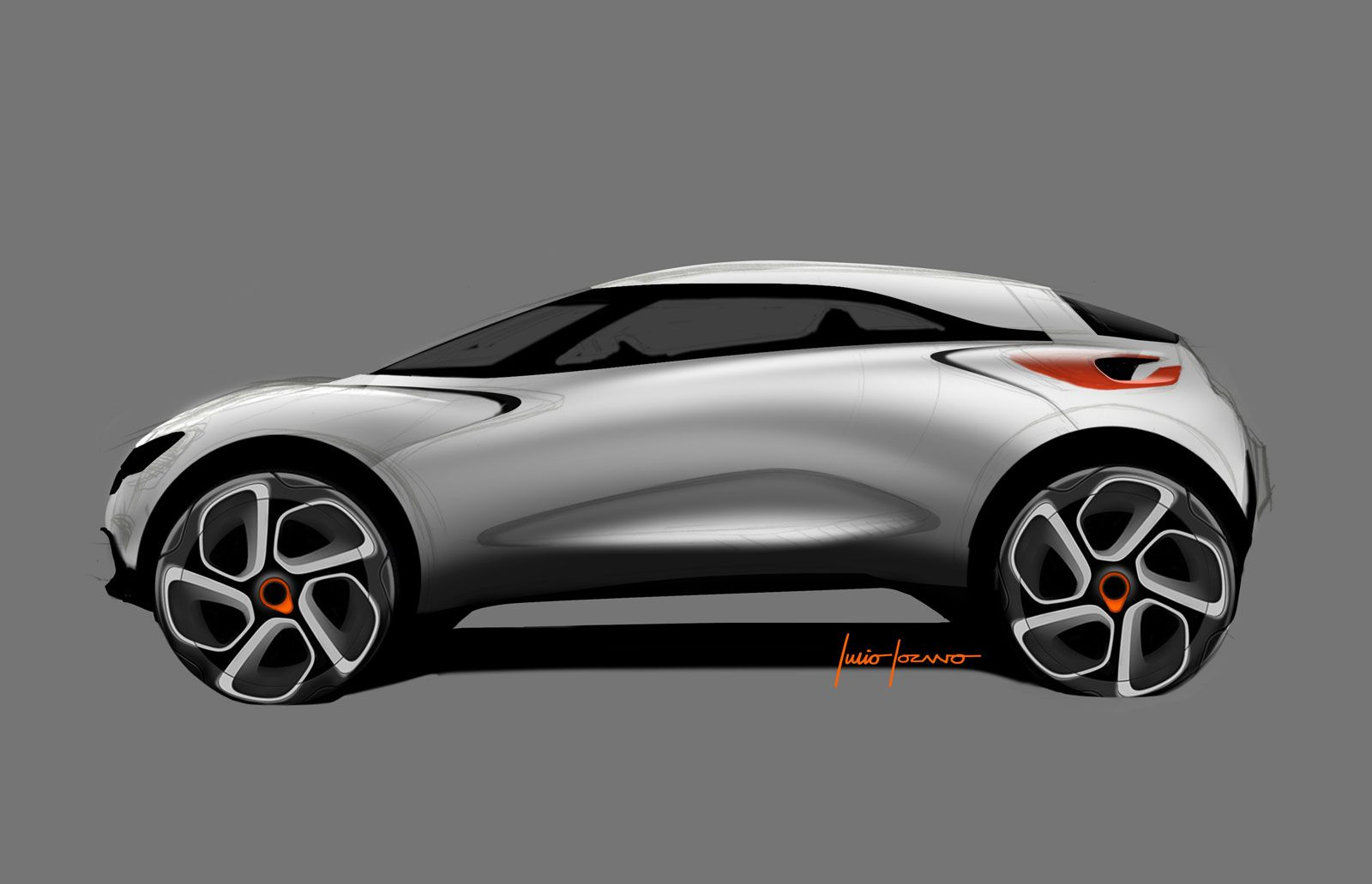 Renault Captur Concept Design Sketch Car Design Sketch Concept