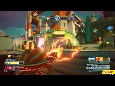 Plants vs  Zombies Garden Warfare 2 online gameplay PS4 Graveyard Ops