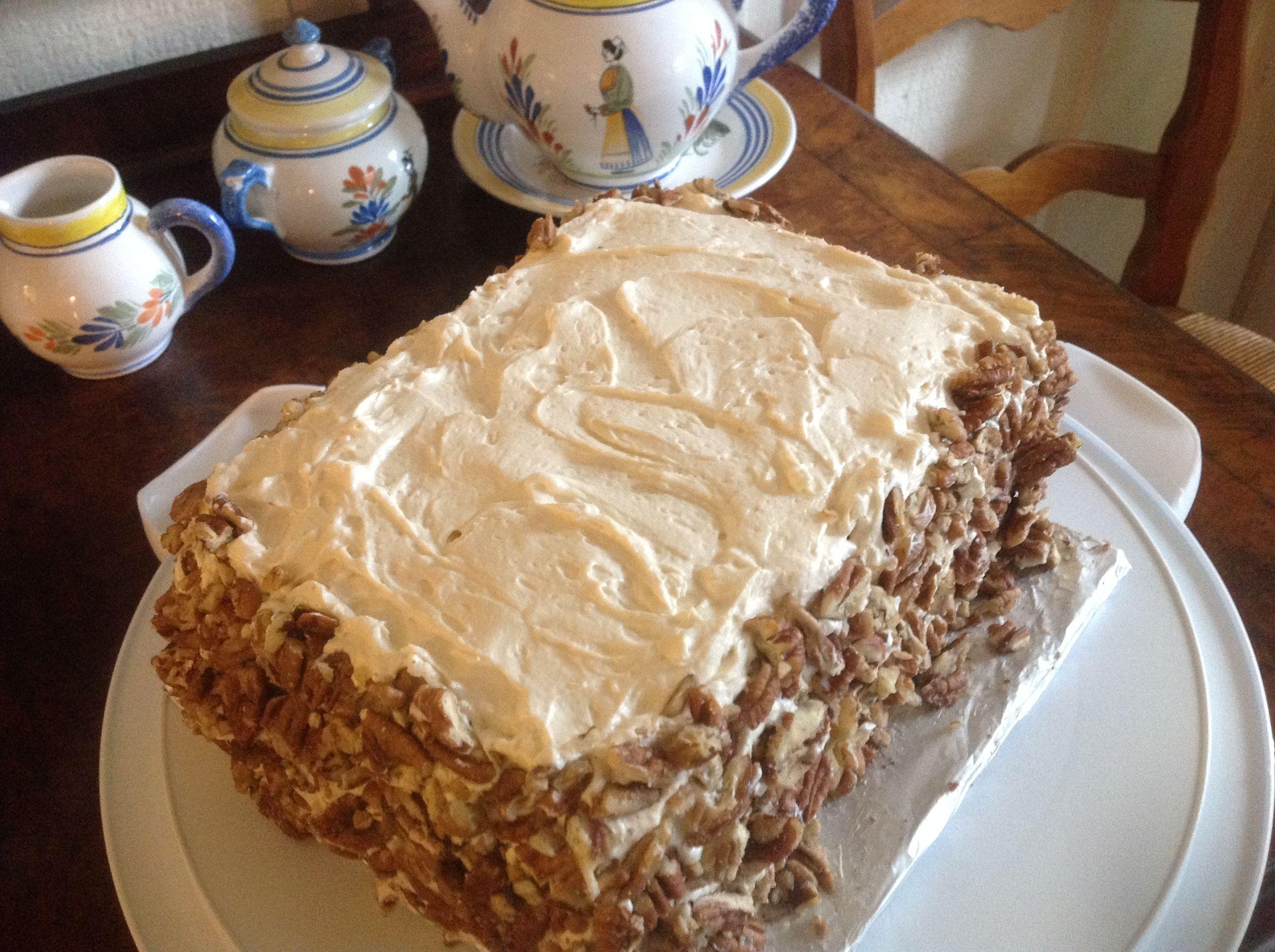 Carrot Layer Cake Recipe Recipe Layer Cake Recipes Cake Recipes Best Carrot Cake
