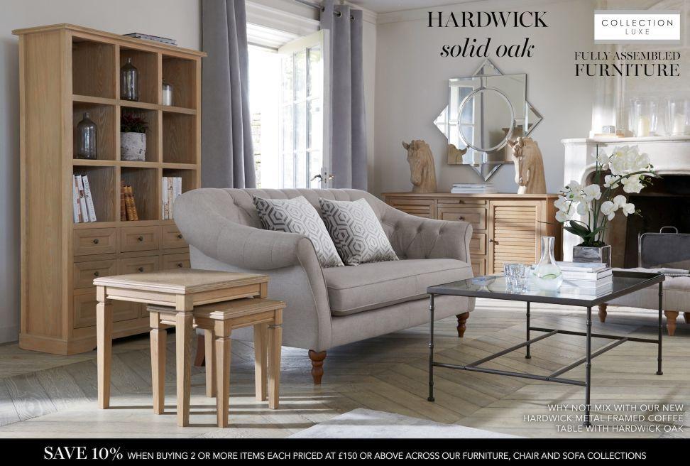 Hardwick Metal Coffee Table Furniture Living Room Living Room