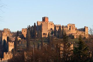 Soave, nice city in north Italy