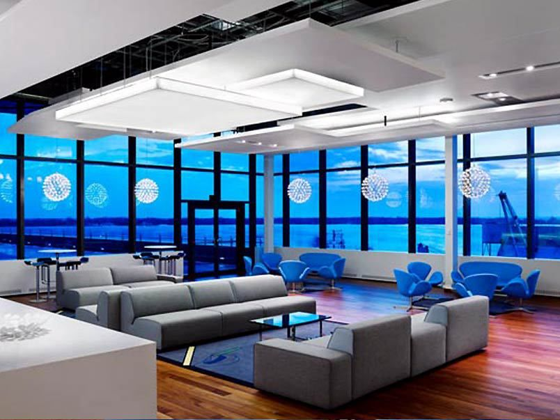 How lighting affects employee productivity work architecture