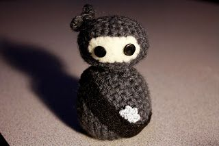 Amigurumi Crochet Books : Amigurumi ninja from creepy cute crochet book my crochet projects