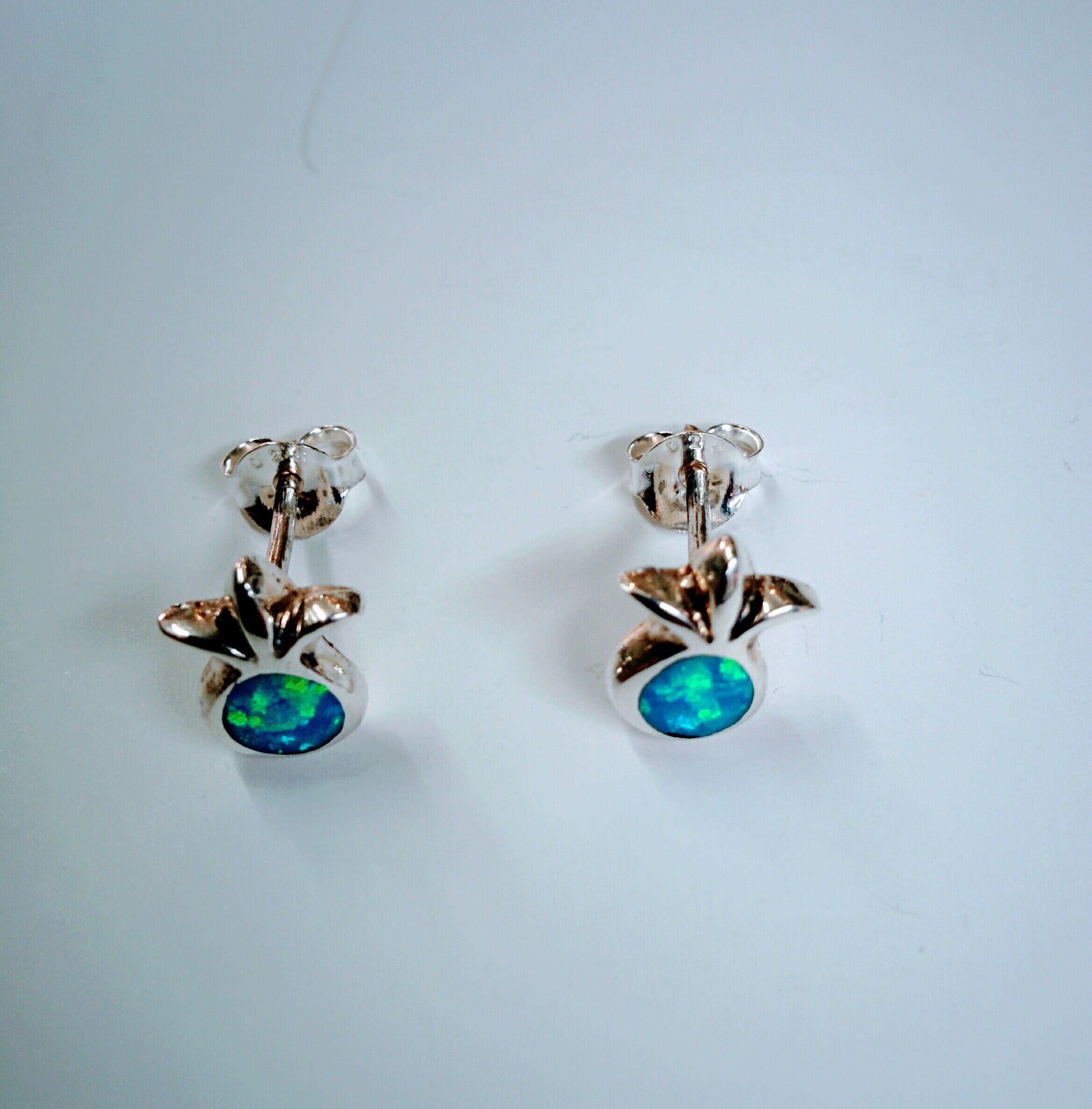 bodycandy screw stud gauge blue nose rilrgwvbwzidzezzpaej collections pronged left opal faux rings