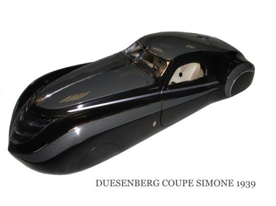 Duesenberg Coupe Simone Midnight Ghost Prototype Of A Model That
