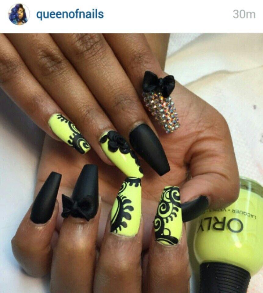 Pin de Qua-Denia Watts en Nails | Pinterest | Uñas perfectas ...