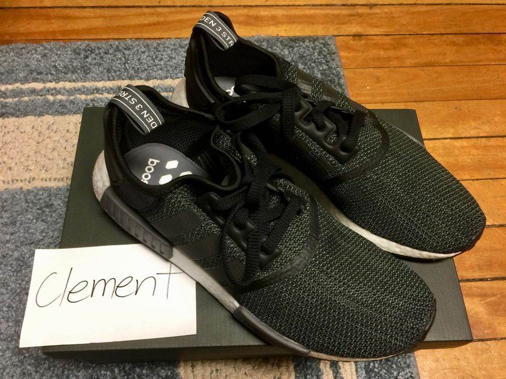 new concept 7abed a4b00 adidas NMD R1 Core Black Carbon Size 9.5 #fashion #clothing ...