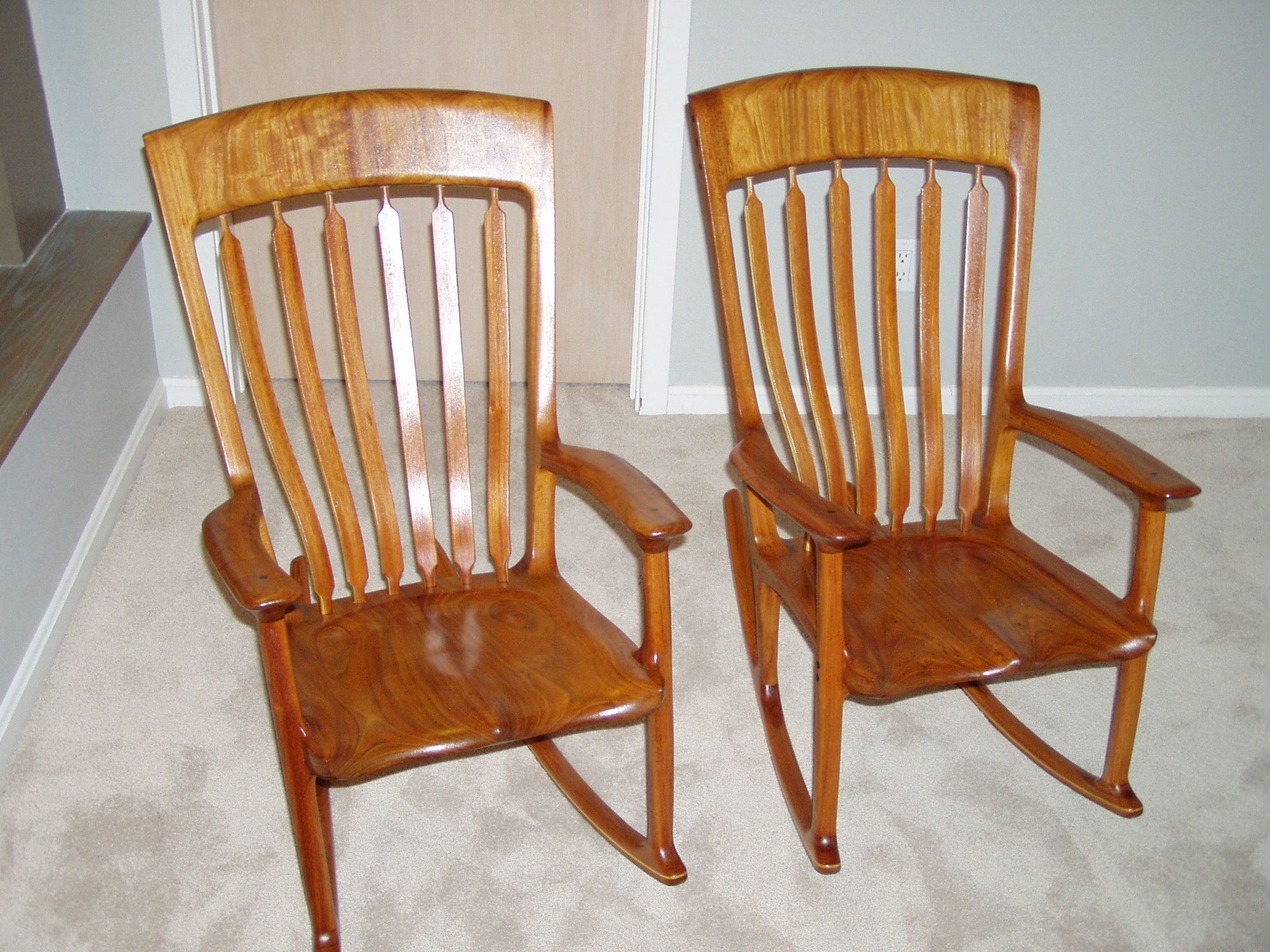 Admirable Pin By Ohm Rocking Chairs On Maloof Inspired Child Size Machost Co Dining Chair Design Ideas Machostcouk