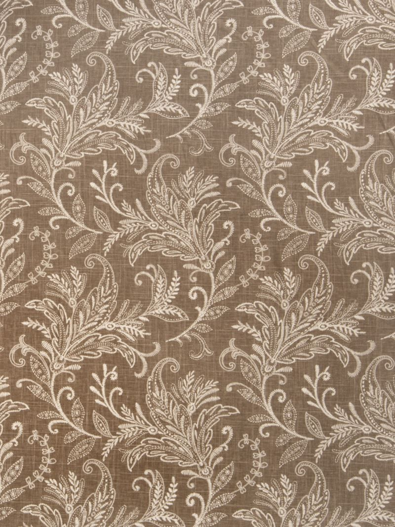 Gorgeous mocha leaves fabric by Fabricut. Item 0379006. Free shipping on Fabricut. Always 1st Quality. Search thousands of fabric patterns. Swatches available. Width 54 inches.
