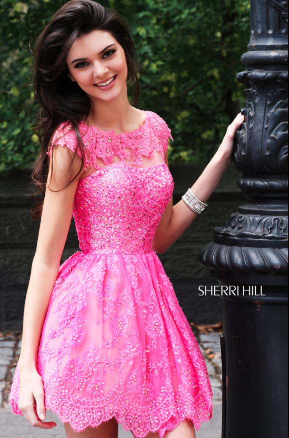 Kendall Jenner in Sherri Hill. Love it! I can see myself wearing ...