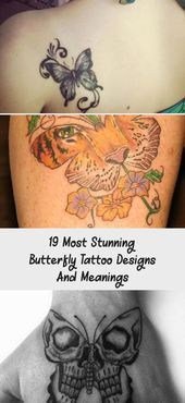 Photo of 19 Most Stunning Butterfly Tattoo Designs And Meanings – Tattoos  19 Most Stunni…