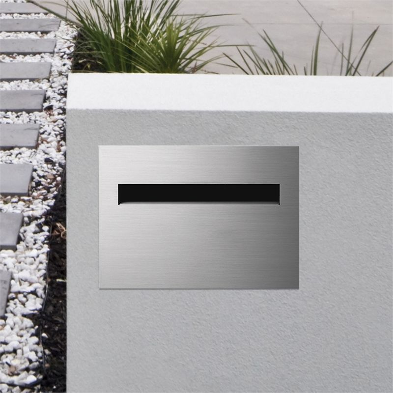 Sandleford Stainless Steel Jet 316 Back Opening Set Letterbox Letter Box Open Set How To Make Terrariums