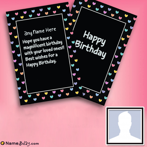 Free Birthday Cards For Husband With Name Free Birthday Card Husband Birthday Card Birthday Cards For Friends