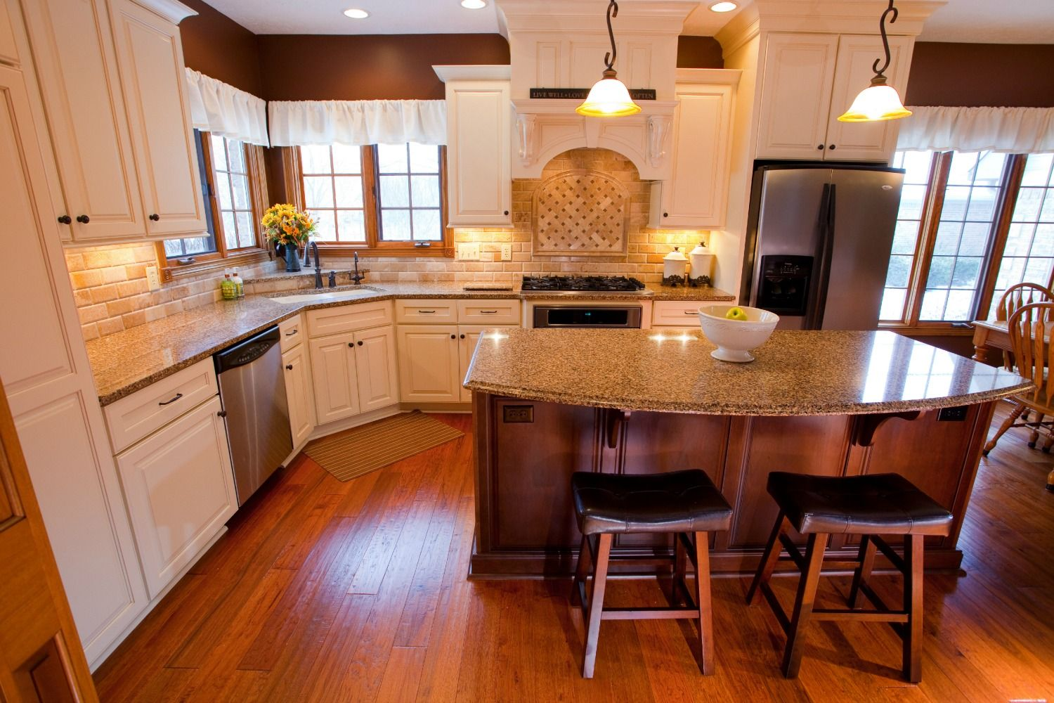 Kitchen With Fireplace Remodel: Bender Kitchen Fireplace Remodel ~ Decoration Inspiration