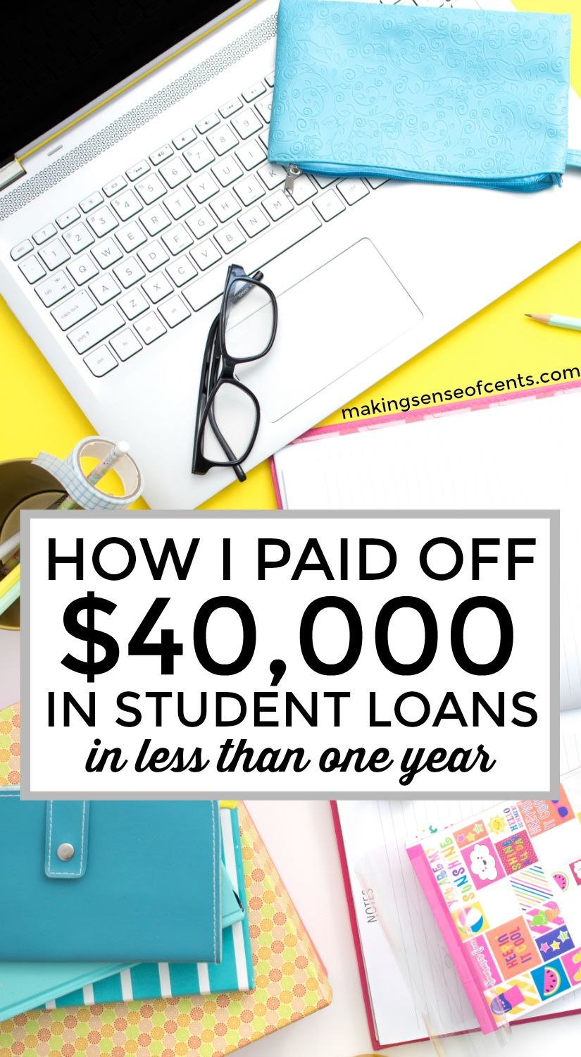How I Paid Off 40 000 In Student Loans In 7 Months Student Loan Repayment Plan Student Loan Repayment Student Loans