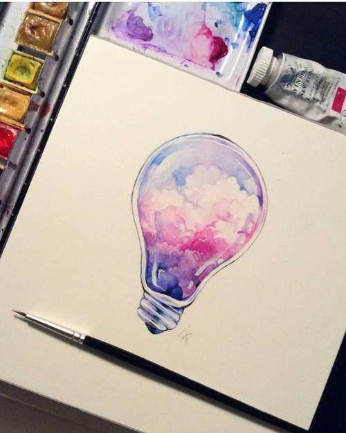 pinterest blurrysight art art dessin ampoule dessin