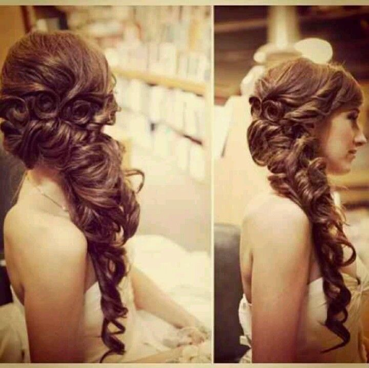 35 Fantastic Ideas Of Mermaid Wedding Dresses You Won T Be: Ummm Even If My Hair Won't Grow This Long Maybe It Would