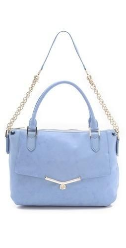 Love this pale purple #Botkier Valentina #satchel #handbag