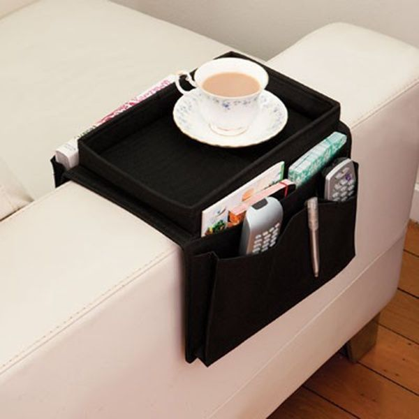 Organizer Office Picture From Energetic House Life About 6 Pockets Oxford Cloth Pouch Multilayer Arm Rest Chair Settee Couch Novelty Remote Control