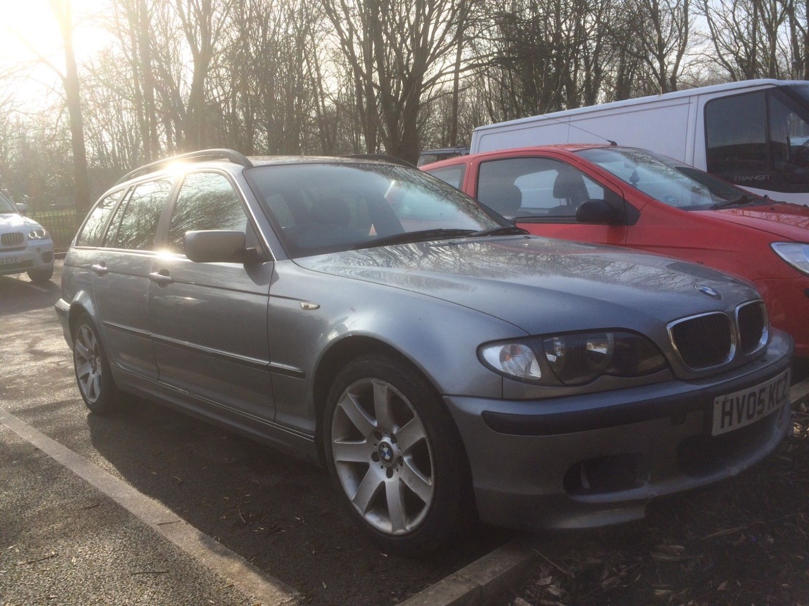 BMW 320d TOURING 2005 (55) 162k*SPARES OR REPAIRS* LONG M..O.T INC ...