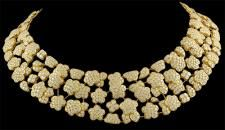 Van Cleef  Arpels 18k yellow gold diamond Melusine necklace.Approx. 40cts. of diamonds. Circa 1980s