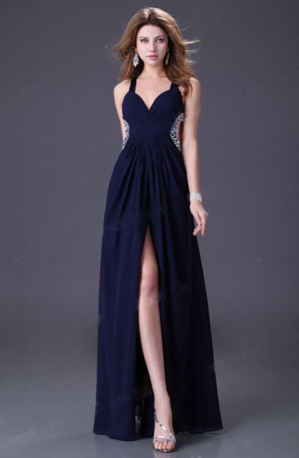Hermoso Vestido largo, muy elegante, perfecto para una ocasión ...