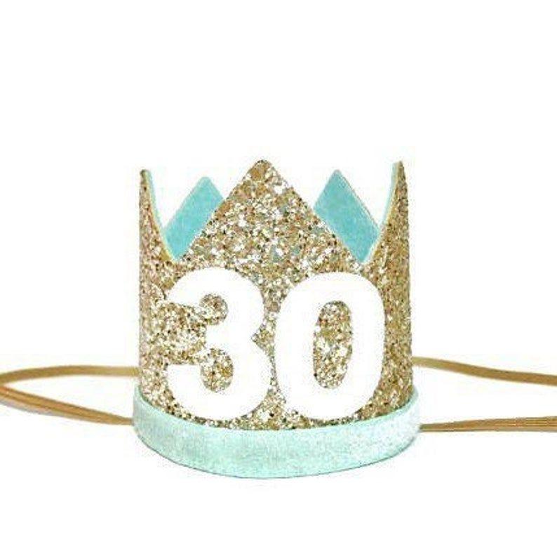 Flirty 30 Birthday Dirty 30 | 30th Birthday Crown Adult Birthday Crown Thirtieth Adult Party Hat 21st Birthday