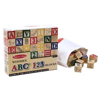 according to the toy hall of fame alphabet blocks appeared in toy boxes as early as melissa doug wooden abc 123 blocks pcs is our top pick when it