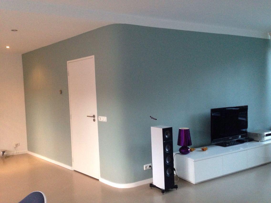 Flexa early dew streep doorlopend kleur muur pinterest for Kleur muur