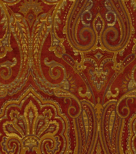 A Traditional Paisley Home Décor Fabric With Elegant Color Combination Perfect For Mix And Match Lications Easily Complement Any Design Theme You Have